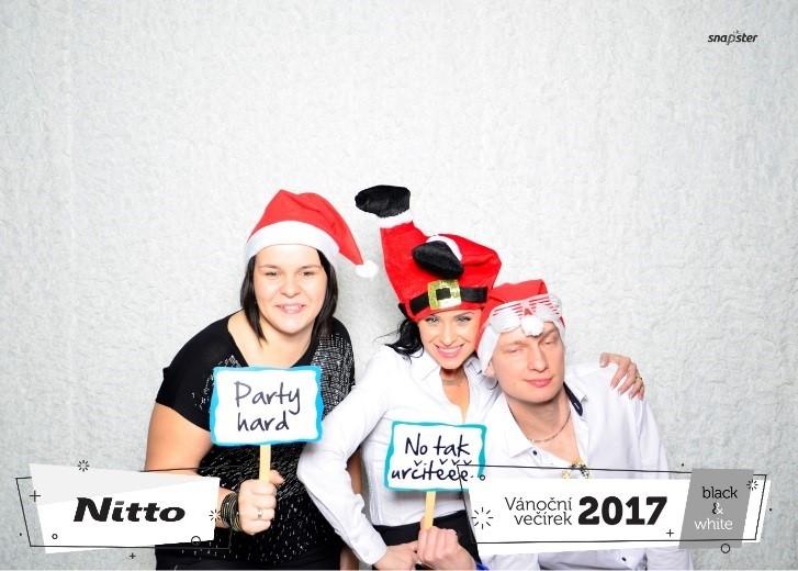 Vánoční večírek Black&White 2017