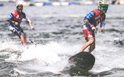 Moto Surf na Brněnské přehradě