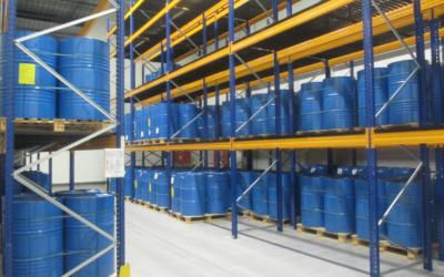 Nové skladové prostory – rozšíření budovy NCZ