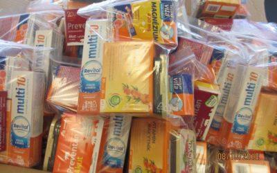 Vitamínový balíček a očkování proti chřipce