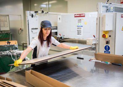 Dělník/dělnice ve výrobě – dvousměnný provoz