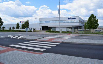 Zaměstnanci Nitto již od dubna přecházejí vozovku bezpečně!