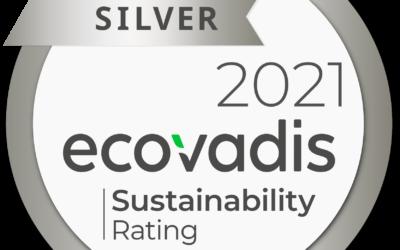 Nitto získalo stříbrnou medaili EcoVadis